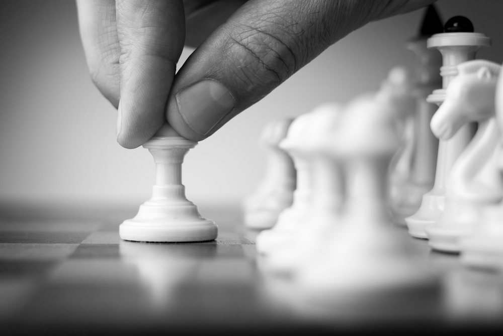 chess and content marketing, both demand strategy
